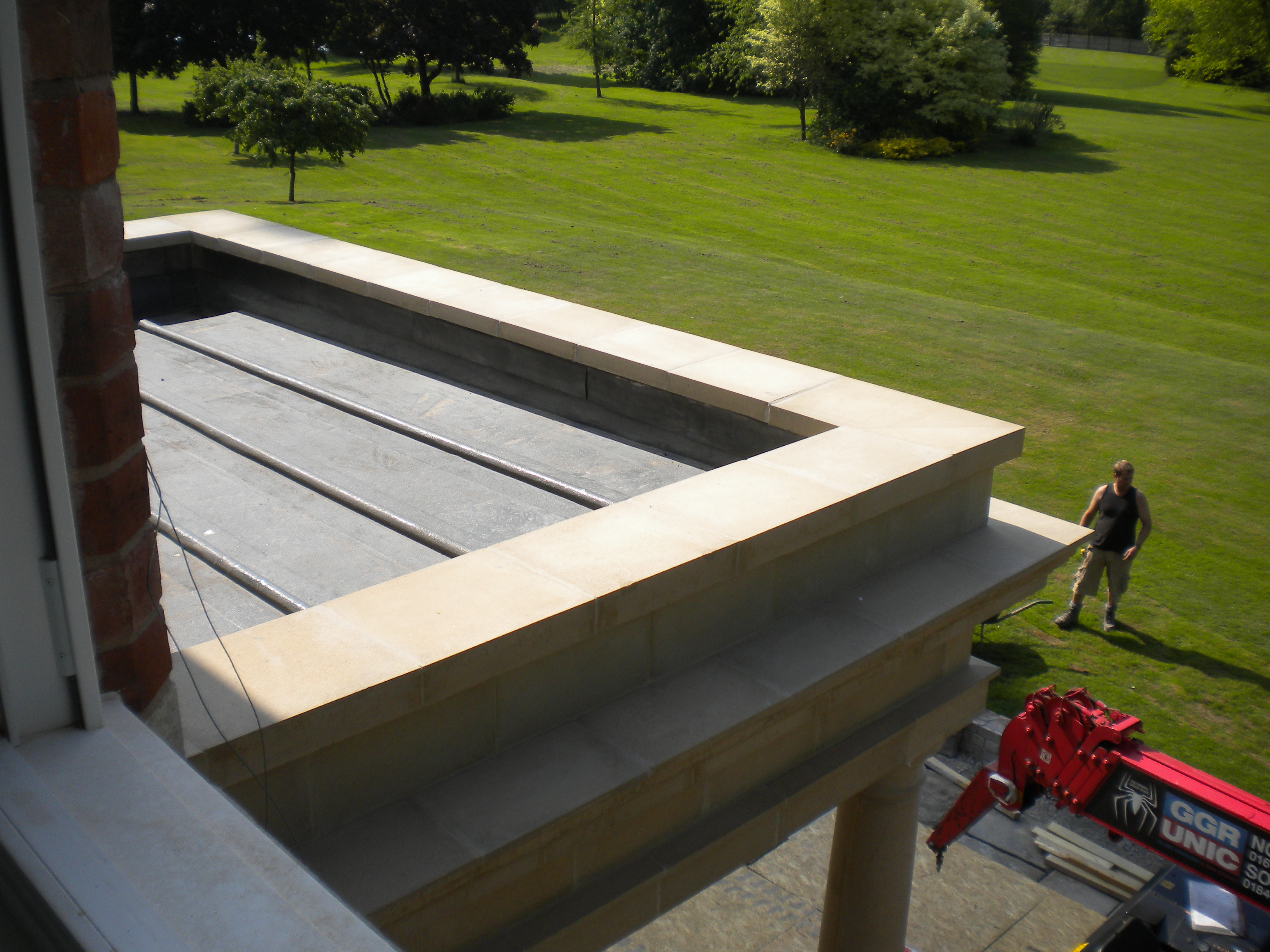 Ashorne house kemper liquid applied flat roofing brown roofing sciox Gallery